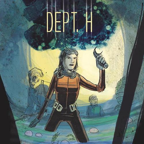Matt Kindt Announces <i>Dept. H</i>, A Deep Sea Survivalist Murder Mystery