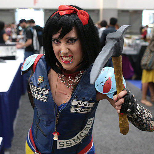 Cosplay Princesses and Superheroes at San Diego Comic-Con