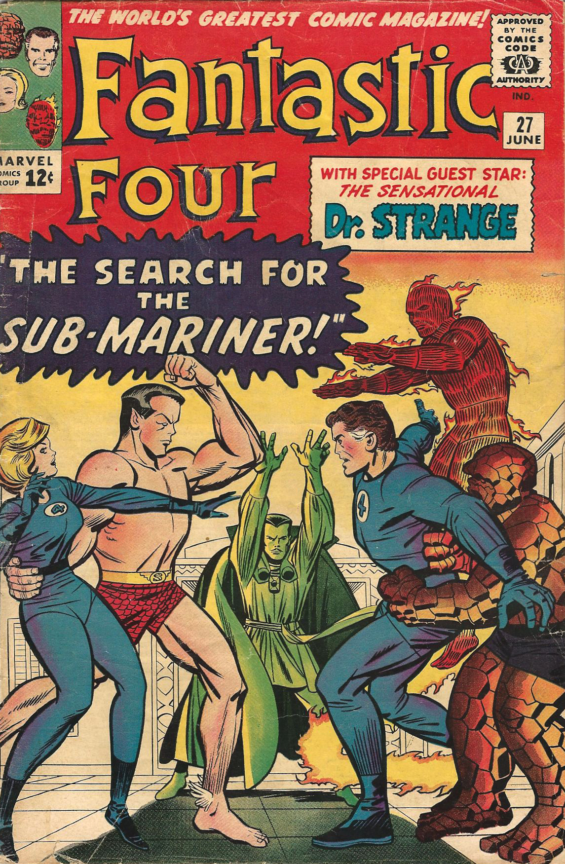 Three ways stan lee and jack kirbys fantastic four laid the fantasticfour27g malvernweather Choice Image