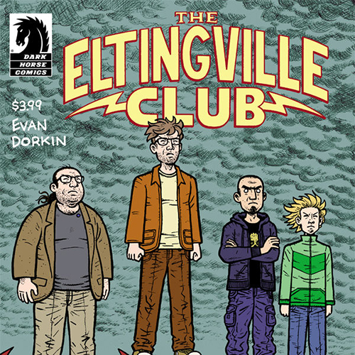 """""""It was an ugly birth of an ugly book"""": Evan Dorkin on the Disgusting Fan Archetypes in <i>The Eltingville Club</i>"""
