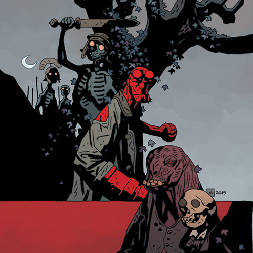 Exclusive: <i>Itty Bitty Hellboy</i> and A New <i>BPRD</i> Villain Emerge in The Mignolaverse this November