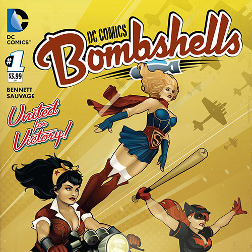 Guest List: Marguerite Bennett Scores the Glory of <i>DC Comics Bombshells</i> with Sufjan, Rammstein