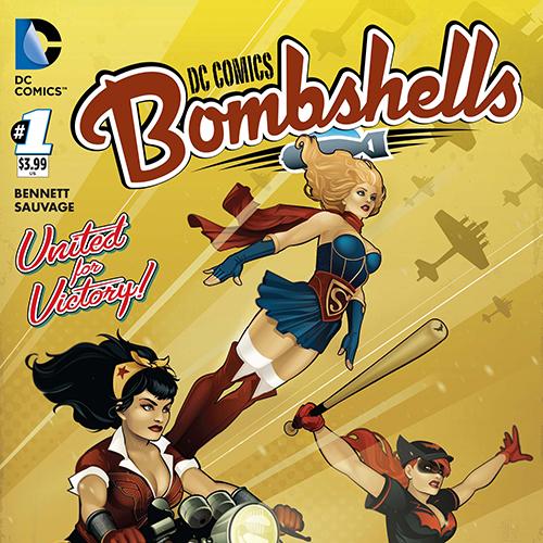 Guest List: Marguerite Bennett Scores the Glory of <i>DC Comics Bombshells</i> with Sufjan, Rammstein