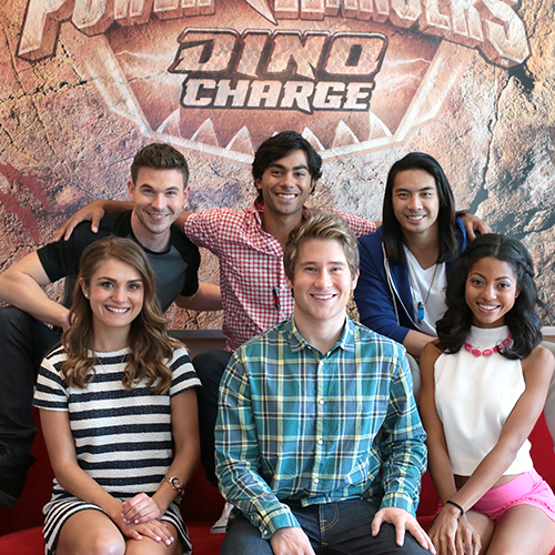 The Current <i>Power Rangers</i> Cast Discusses the Ranger Legacy, Surrealist Violence and <i>The Land Before Time</i>