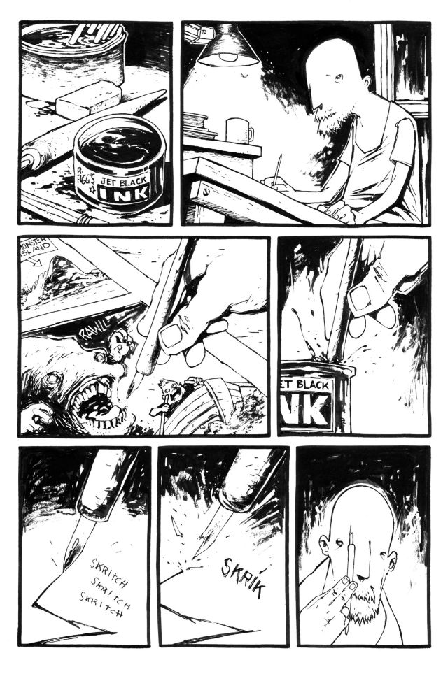 Pencil Head #1 by Ted McKeever :: Comics :: Paste