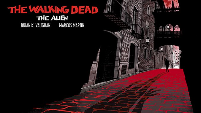 Panel Syndicate Releases 'The Walking Dead: The Alien'