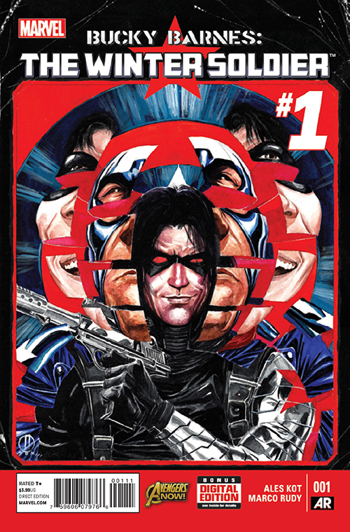 This Comic Empowered Bucky Barnes To Overcome PTSD on a