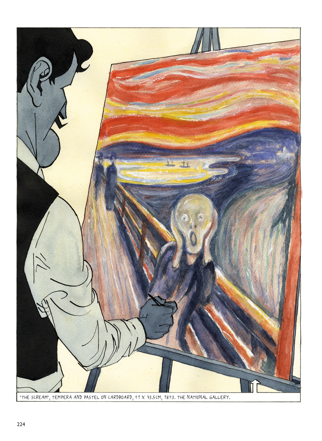 a biography of edvard munch a norwegian painter The scream was made by the norwegian painter and printmaker edvard edvard munch and the scream click here biography of edvard munch- moonk.