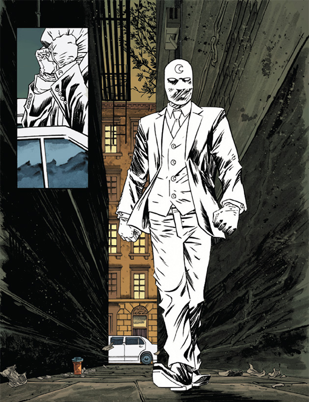 Image result for moon knight mr knight