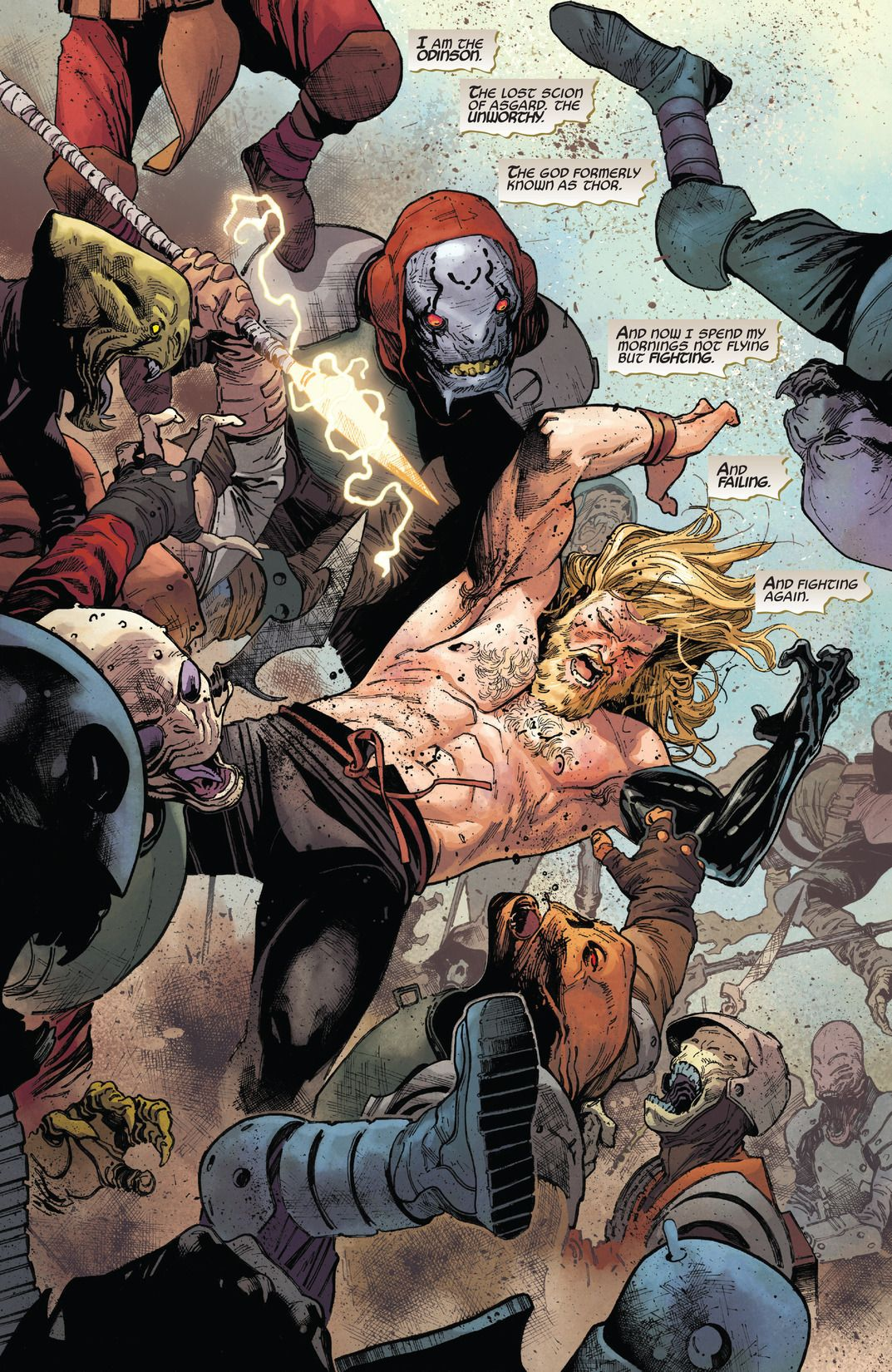 With Unworthy Thor, Jason Aaron Expands Potentially the Best Thor