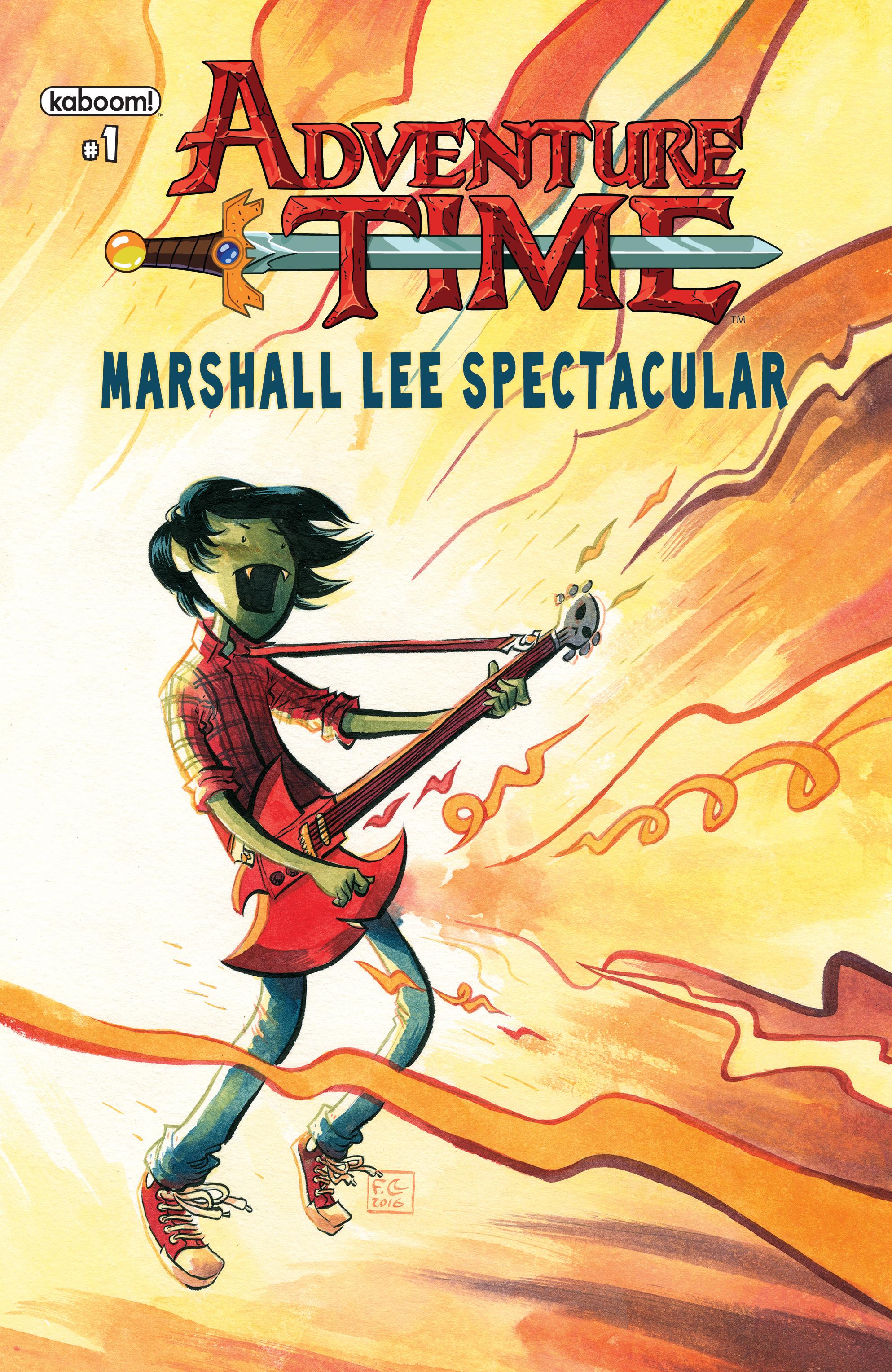 S.M. Vidaurri Sings the Blues with Marshall Lee in Adventure Time ...