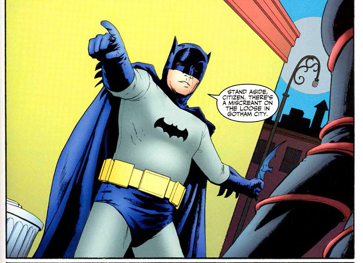 The Enduring Impact Of Adam Wests Batman On Comics Comics