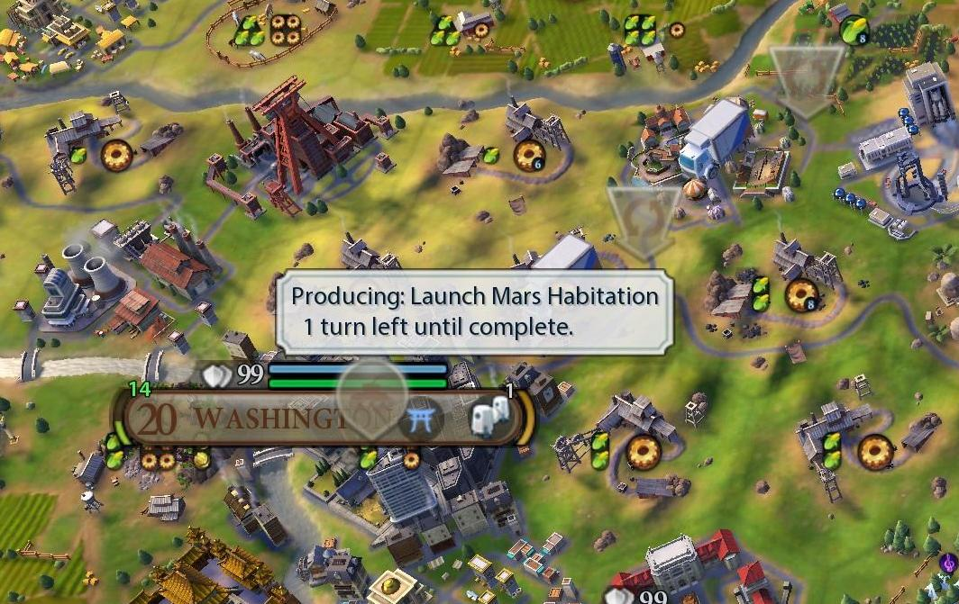5 Times the Climate Change in Civilization VI: Gathering