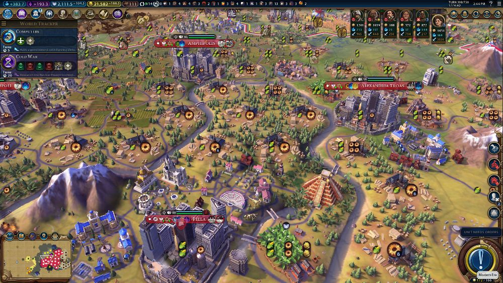 5 Times the Climate Change in Civilization VI: Gathering Storm Got a