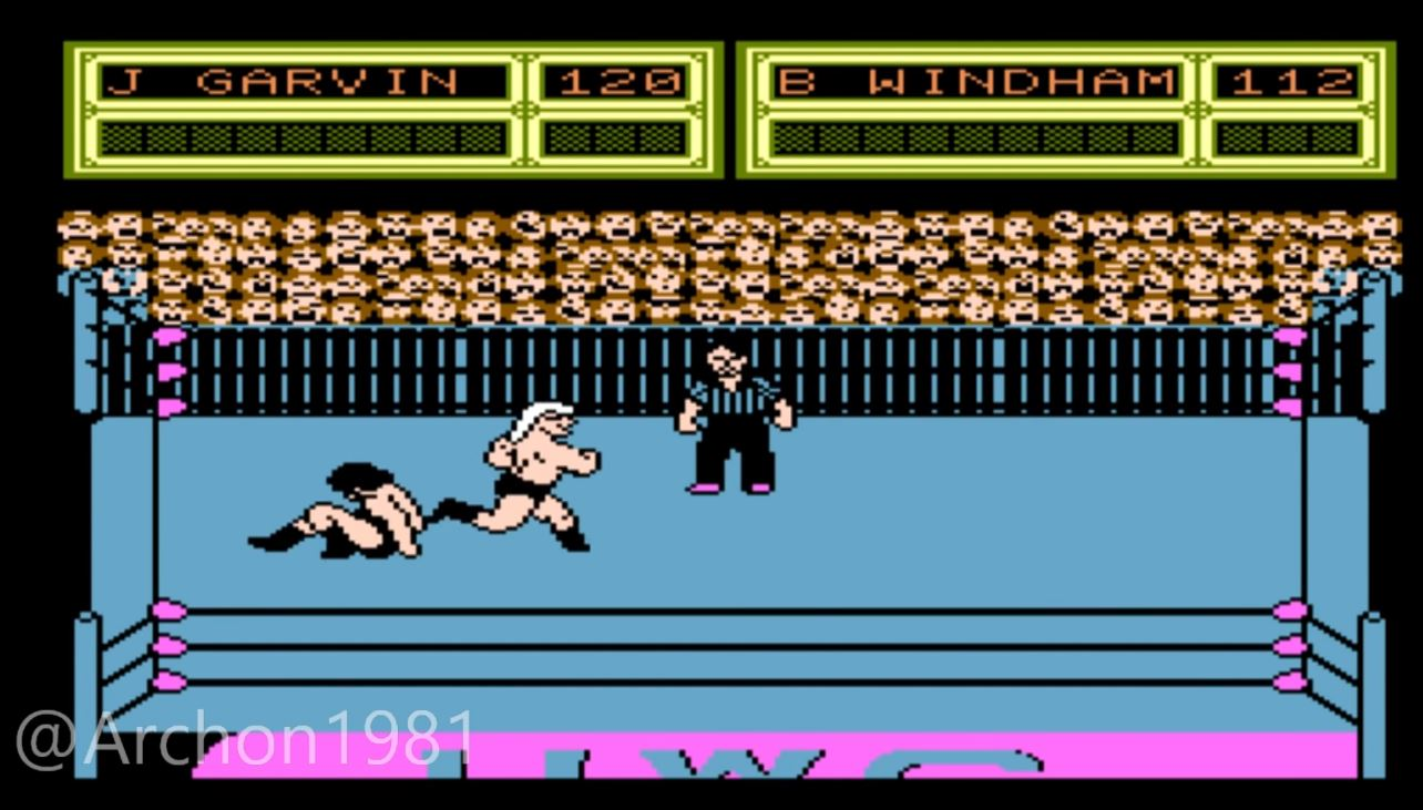 An Unreleased NES Game from 1989 Featuring WCW Wrestlers Has