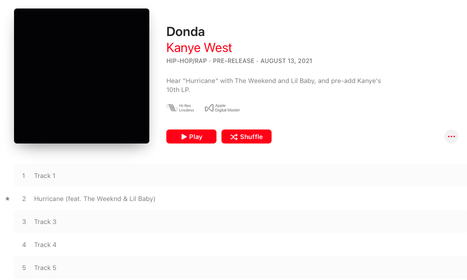 "See 10 new milestones, records by Kanye West ""DONDA"" album"