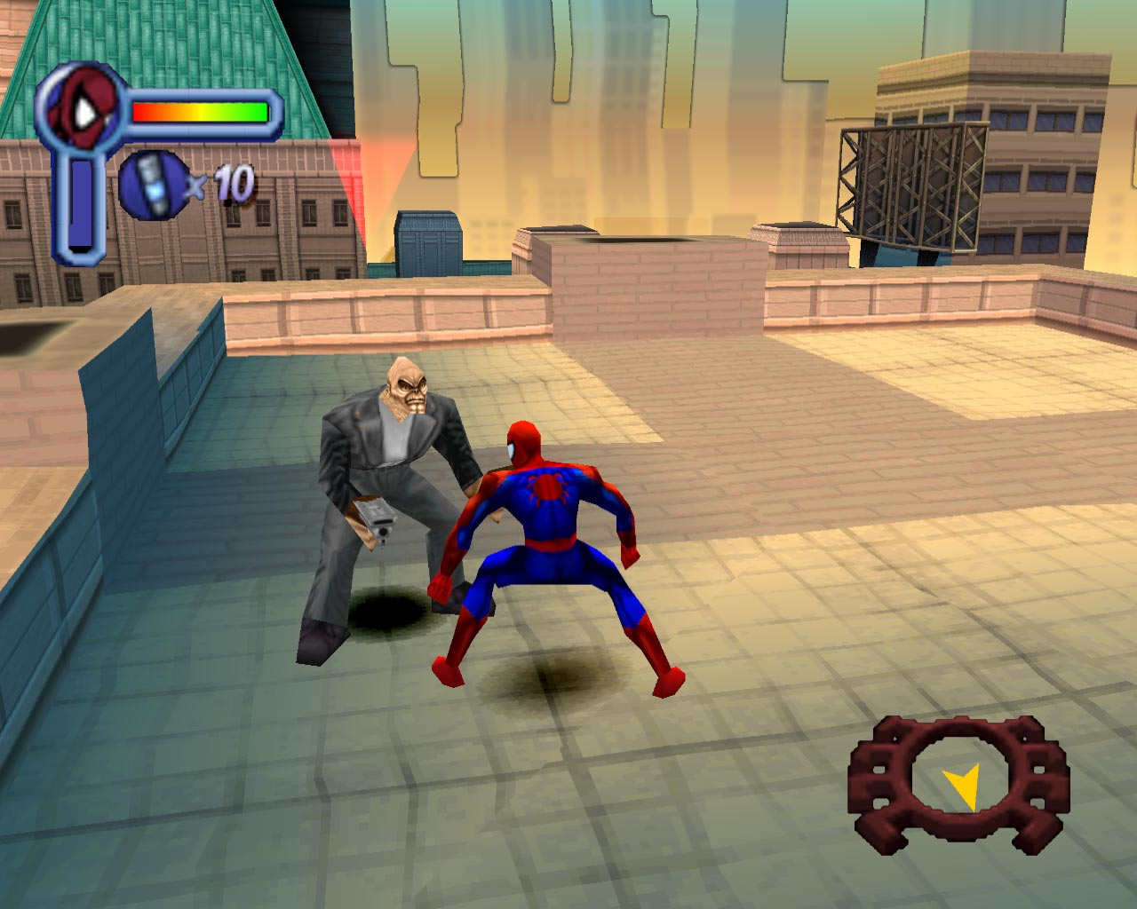 Spiderman 1 PSX [Portable] [Español] [Userscloud/1Fichier]