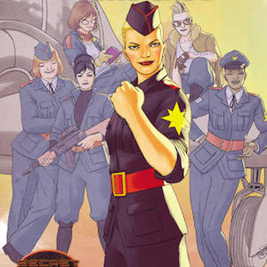 <i>Captain Marvel & the Carol Corps</i> Featuring Female-Centric Team of Fighter Aces