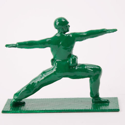 Yoga Joes Give Army Men a New Pose