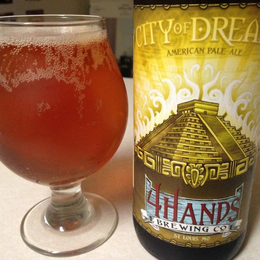 4 Hands City of Dreams Pale Ale Review