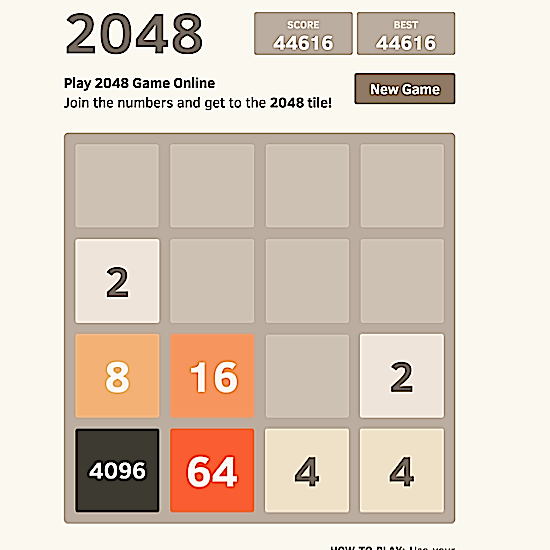 The Game 2048 is Maddening and Should Be Illegal :: Games
