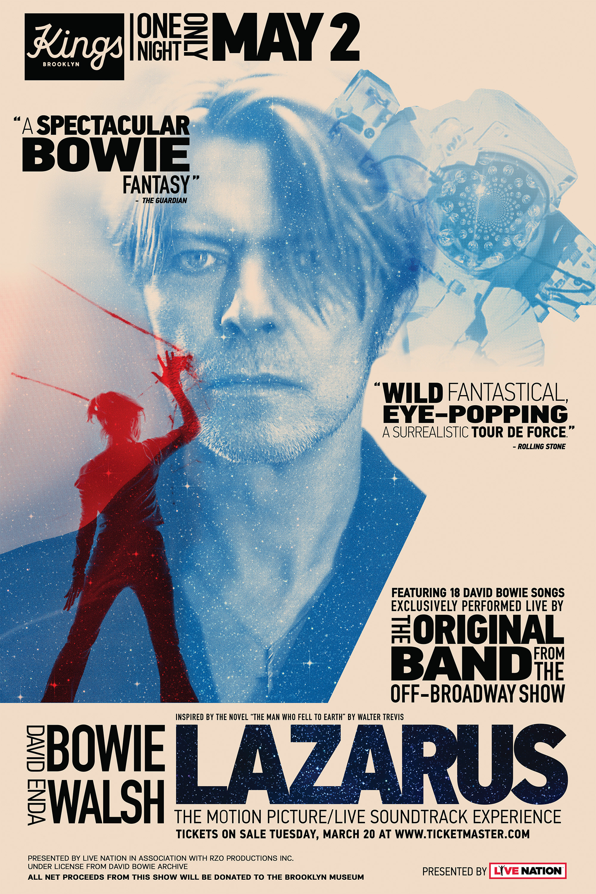 David Bowie\'s Lazarus Is Being Turned Into a Film and Live Music ...