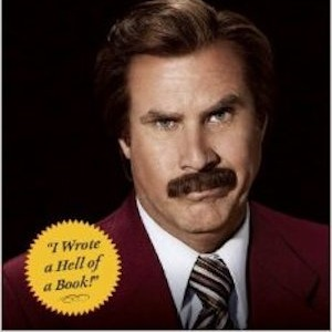 Watch the Trailer for Ron Burgundy's New Book, <i>Let Me Off At The Top</i>