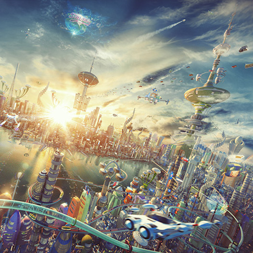Russian Artist Recreates <i>Futurama</i> Skyline in 3D