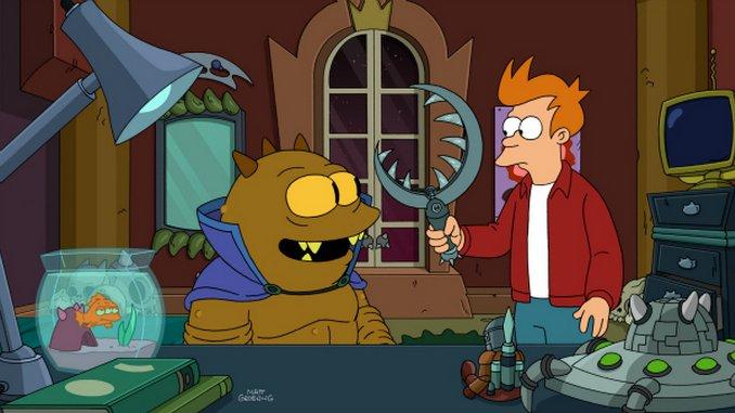 "<em>Futurama</em>: ""T.: The Terrestrial"" (7.16)"