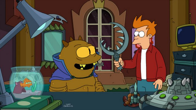 "<em>Futurama</em>: ""T.: The Terrestrial"" (7.16)"