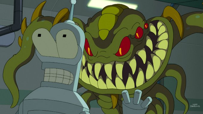 "<em>Futurama</em>: ""Murder on the Planet Exress"" (7.24)"