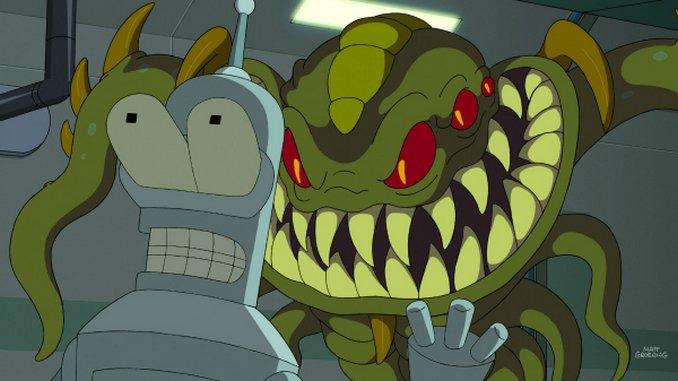"""<em>Futurama</em>: """"Murder on the Planet Exress"""" (7.24)"""