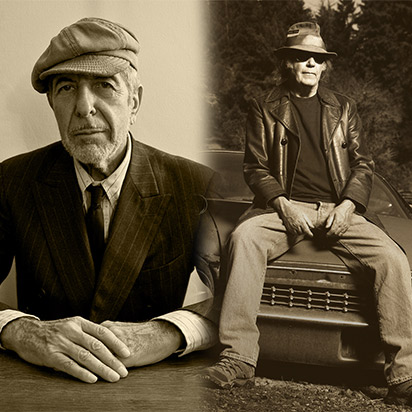 Neil Young and Leonard Cohen: A Canadian Homecoming