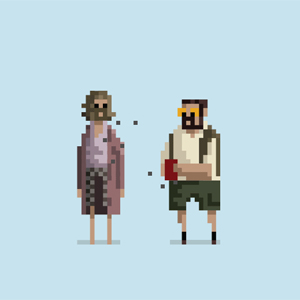 <i>Clerks</i>, <i>Pulp Fiction</i> and Other Popular Movies Depicted as 8-Bit GIFs