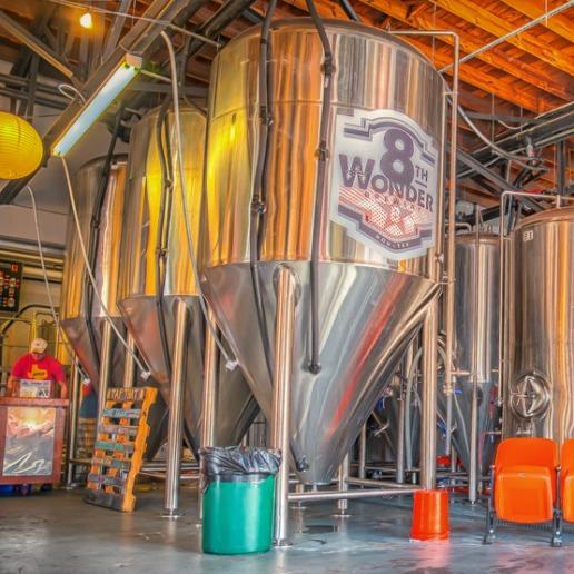 Inside Houston's 8th Wonder Brewery