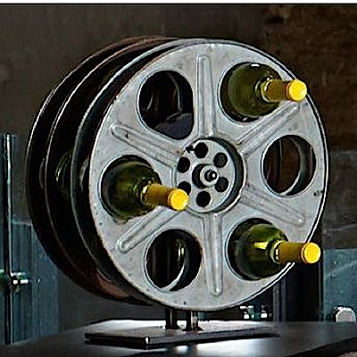 2014 gift guide for movie lovers movies lists paste for Movie reel wine rack