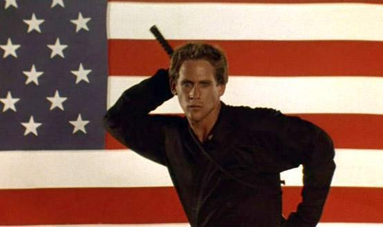 American Ninja movie scenes This is what happens when American audiences see Enter the Ninja and ask Could the ninja be more American And can we do away with the dubbing