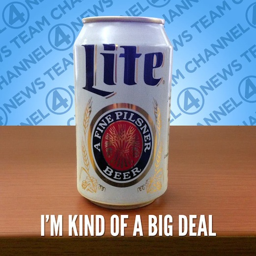 Miller Lite Brings Back Retro Can For Ron Burgundy