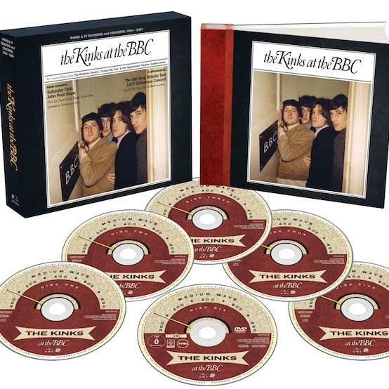 Universal to Release <i>The Kinks at the BBC</i> Box Set