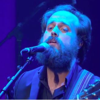 "Watch Iron & Wine Cover Johnny Cash's ""Long Black Veil"""