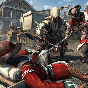 New <i>Assassin's Creed 3</i> Gameplay, Now With More Boston Shanking