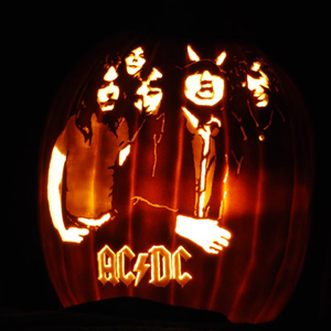 15 great music related pumpkins :: music :: paste