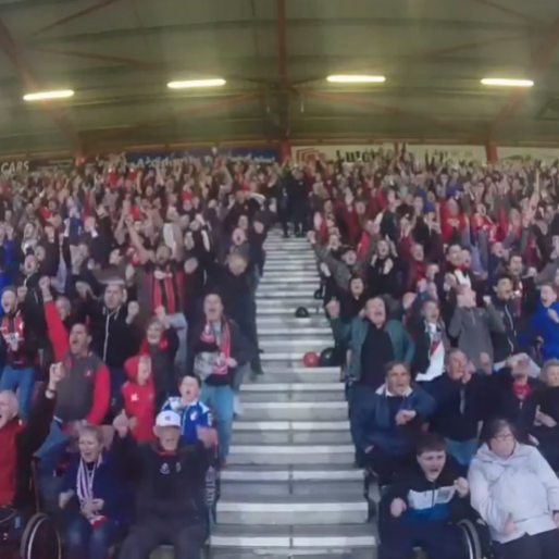 AFC Bournemouth Fans And Players Celebrate Impending Promotion To The Premier League