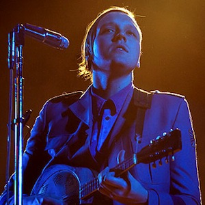"Watch Arcade Fire's Win Butler Play ""The Last Time"" with the Rolling Stones"
