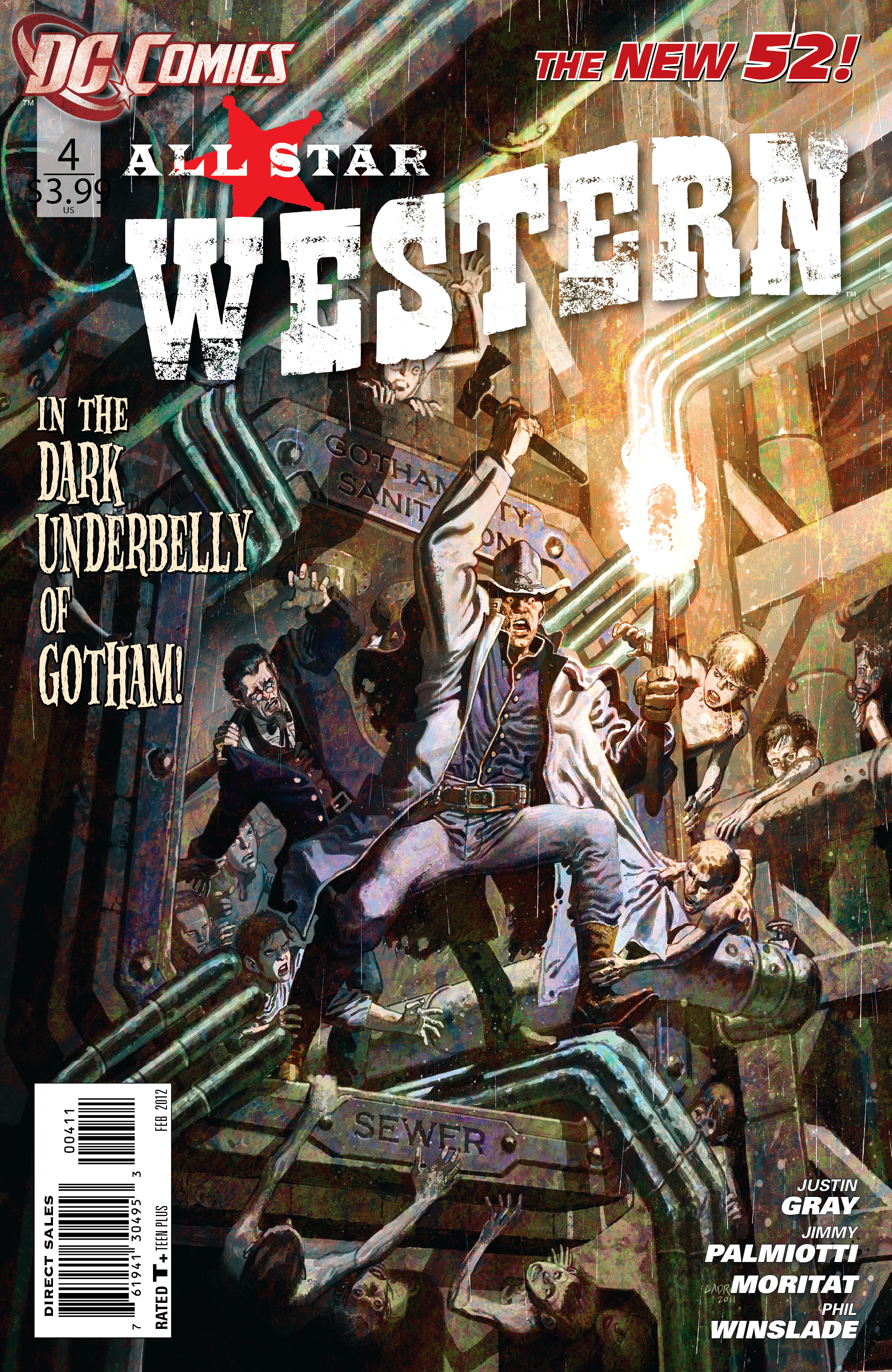 DC's <i>All-Star Western</i> #4: Exclusive Comic Preview