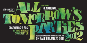 The National to Curate, Headline All Tomorrow's Parties