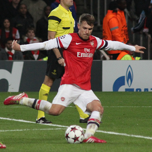 Aaron Ramsey Is Spinning His Way Into the Record Books