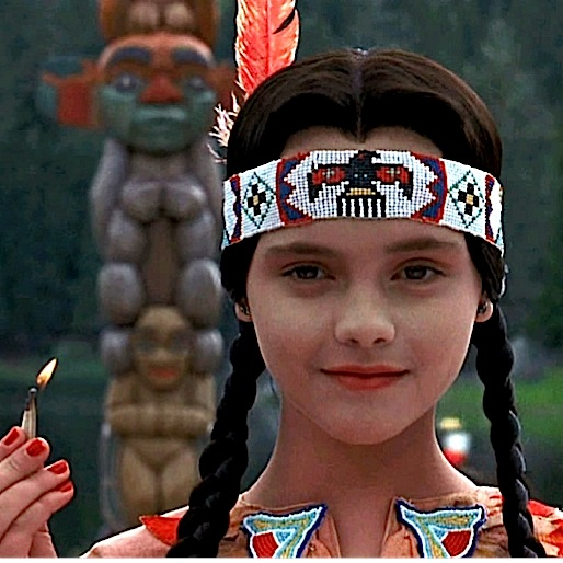 Thanksgiving, as Told by Wednesday Addams...