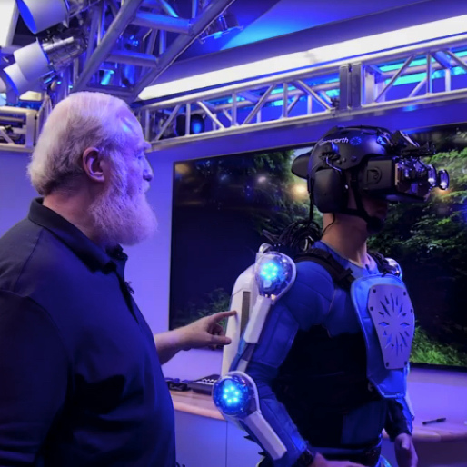 This Futuristic Exoskeleton Simulates the Feeling of Being 70 Years Old