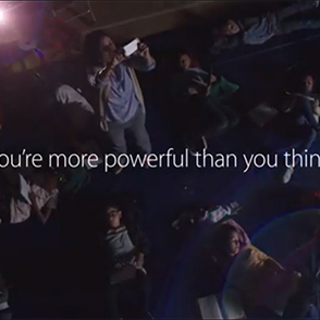 """Apple Ad Uses Pixies to Promote New Tagline: """"You're More Powerful Than You Think"""""""